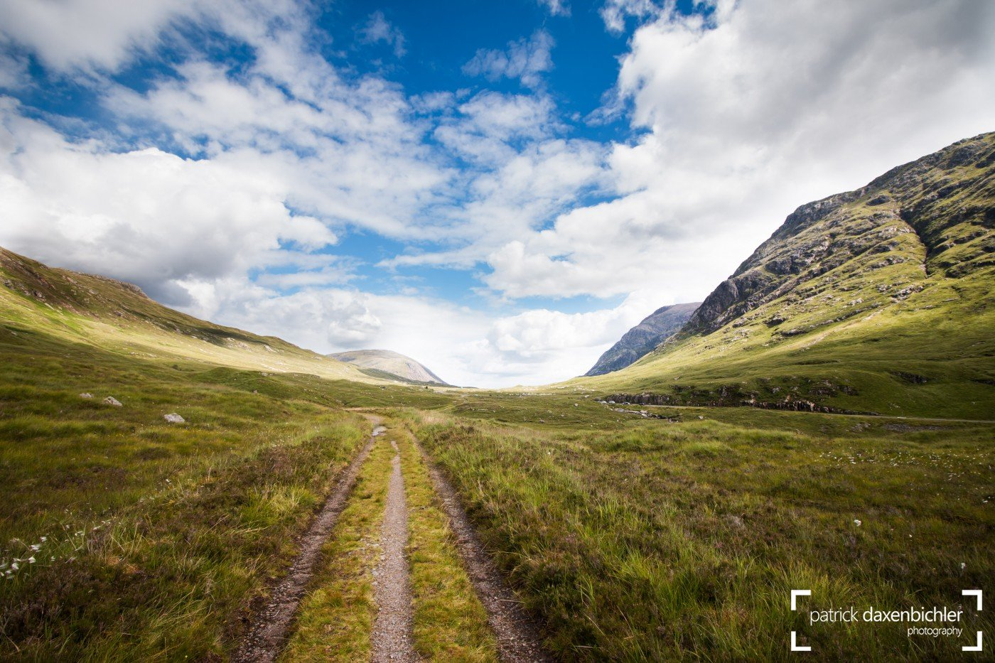 Glen Coe Tal in den Highlands