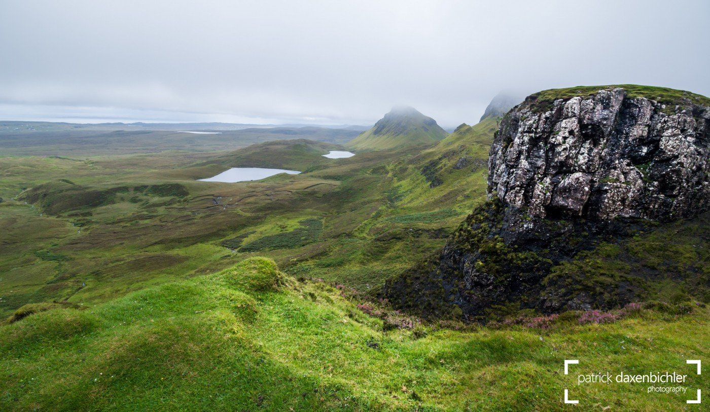 Felsformation, Quiraing Gebirge, Isle of Skye